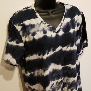 Ralph lauren denim supply tye dye v neck t